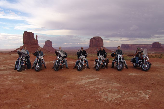 16 Tage geführte Reise Wild West mit Motorrad und Hotels