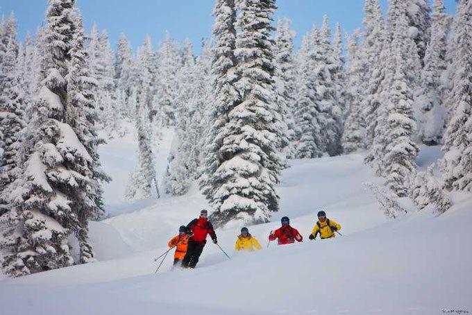 Ski- bzw. Snowboard-Unterricht Revelstoke