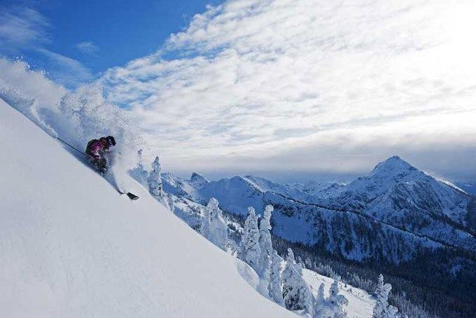 10 Tage Skireise Big White inkl. Flug, Transfer, Hotel und Skipass