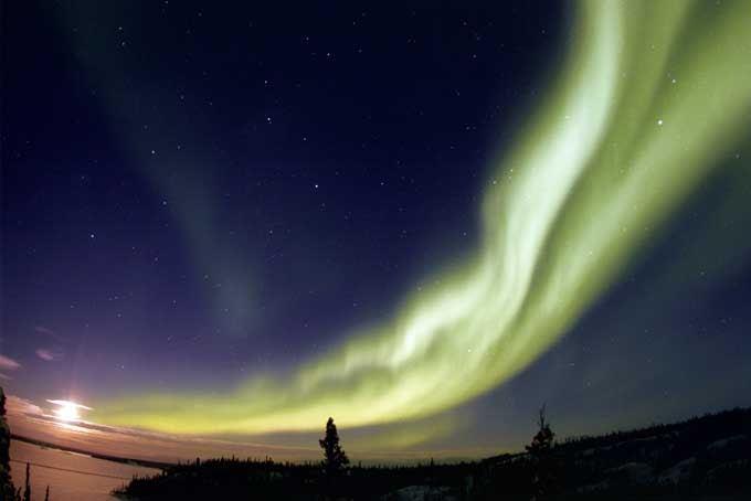 14 Tage Northern Lights & Skireise Alberta mit Flügen, Auto, Hotels und Skipässen