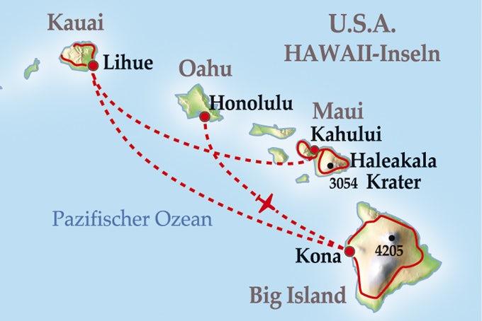 11 Tage Kleingruppenreise Hawaiian Islands Insider