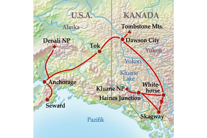 15 Tage Yukon & Alaska Explorer