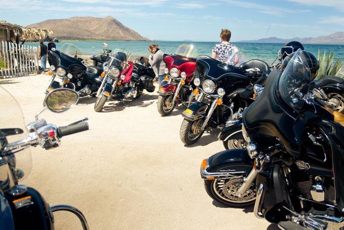 16 Tage geführte Motorradreise Baja California mit Motorrad und Hotels
