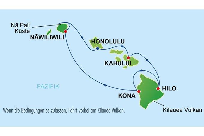 13 Tage Hawaii Inselwelten & San Francisco
