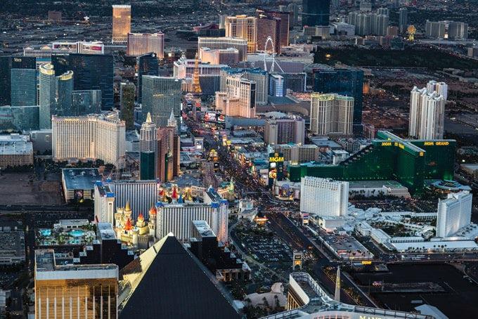 5 Tage Erlebnispaket Las Vegas Deluxe mit Power Pass