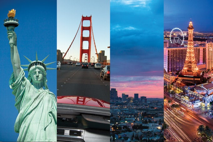 14 Tage Cityhopping: New York, San Francisco, Los Angeles & Las Vegas mit Flug und Hotels.