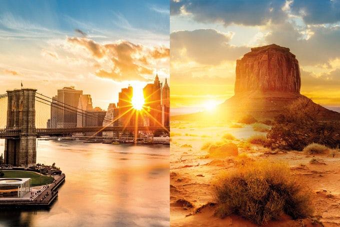 18 Tage New York und Südwesten mit Flug