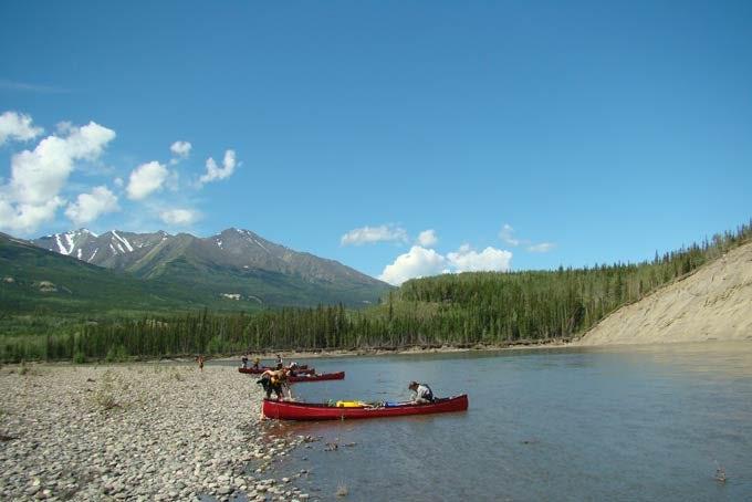 15 Tage Der Klondiker - Big Salmon River Kanutour