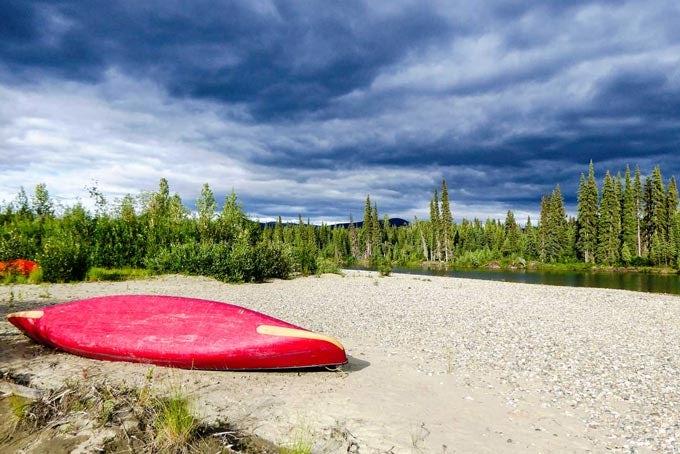 22 Tage Gold Rush Kanu- und Campingreise mit Teslin River