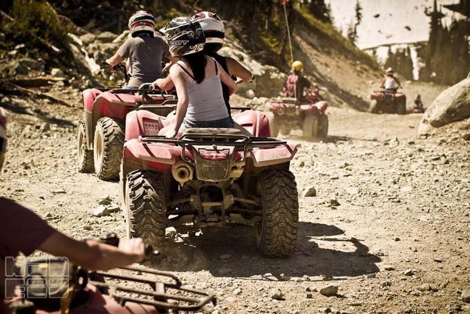 Mountain Explorer Tour mit dem ATV