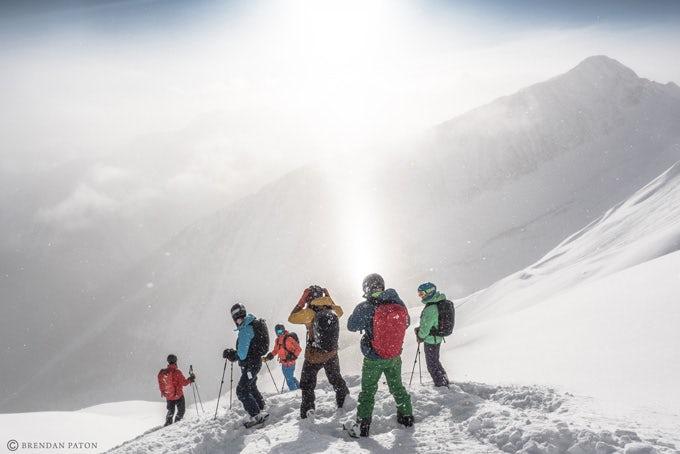 Heli-Skiing oder Heli-Boarding in Banff