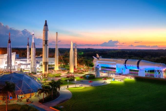 12 Tage Die Ostküste Floridas - Themenparks, Weltall & Strände inkl. Flug