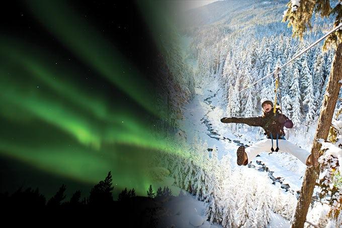 13 Tage Winterspaß in Whistler und Nordlichter im Yukon