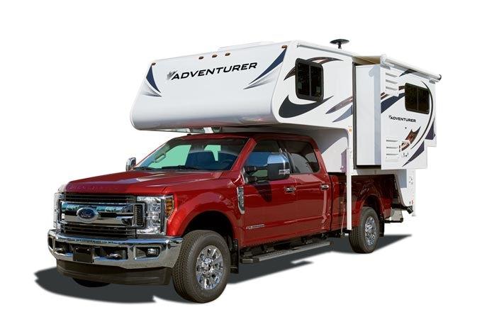 Truck Camper mit Slide-Out
