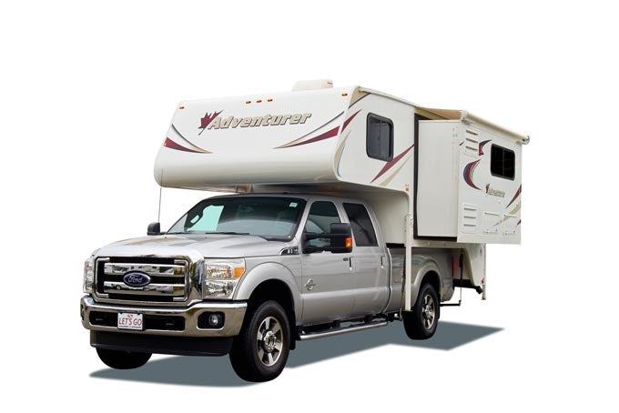 Truck Camper mit Slide-Out & Etagenbetten