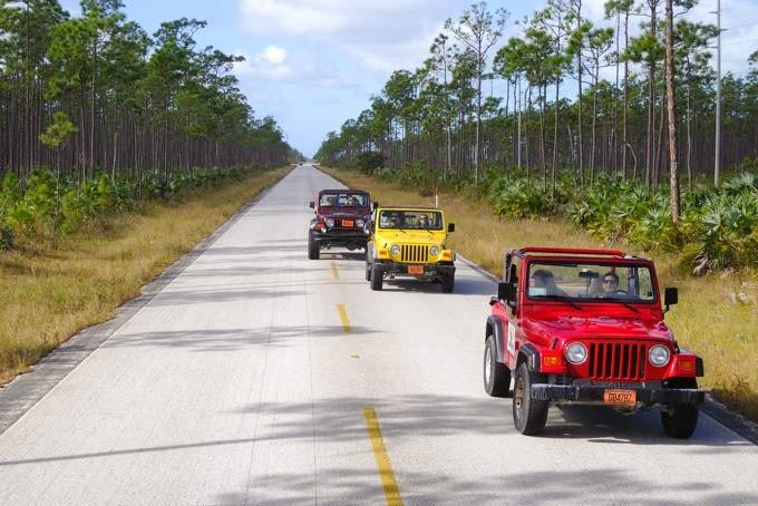 Grand Bahama - Jeep Safari