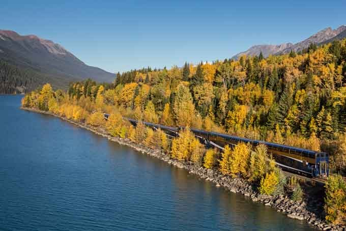 2 Tage Rocky Mountaineer First Passage to the West